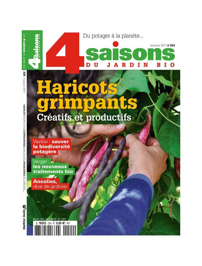 Les 4 Saisons Du Jardin Bio Adintime Print Digital Media