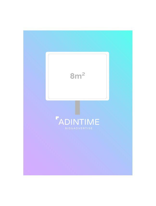 Affichage 8m² - Libourne (15 faces)
