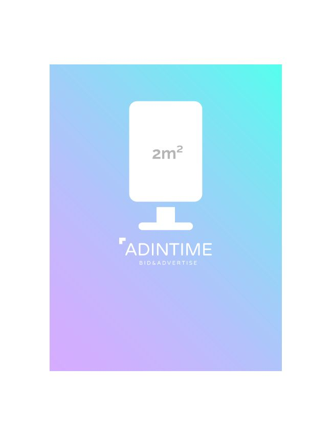OOH 2m² - Eysines (25 posters)