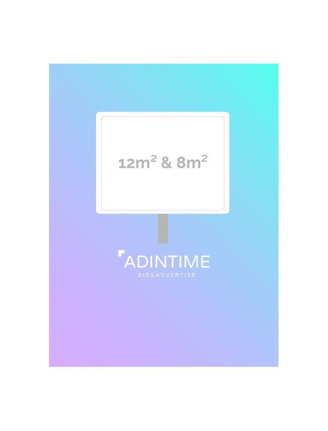 Affichage 12m² & 8m² - Bordeaux (100...