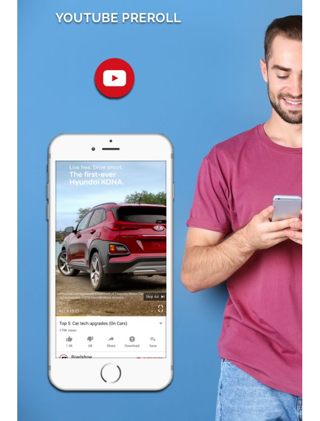 Campagne Pre-roll YouTube