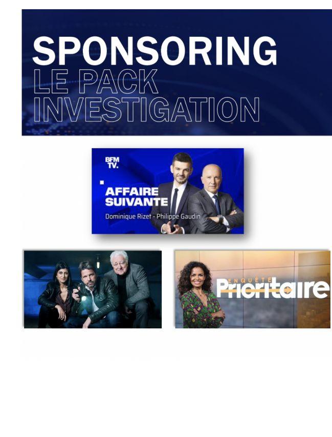 BFM TV - The investigation pack