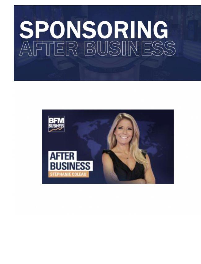 BFM TV - Sponsorship After Business