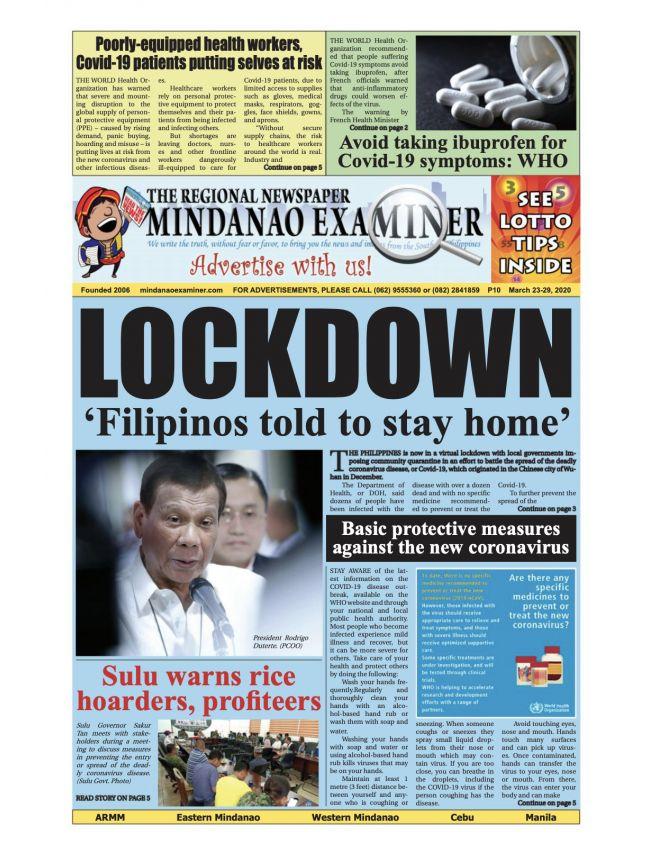 The Mindanao Examiner