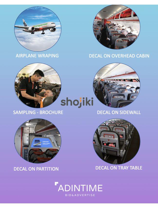 Shojiki - Airplane advertising