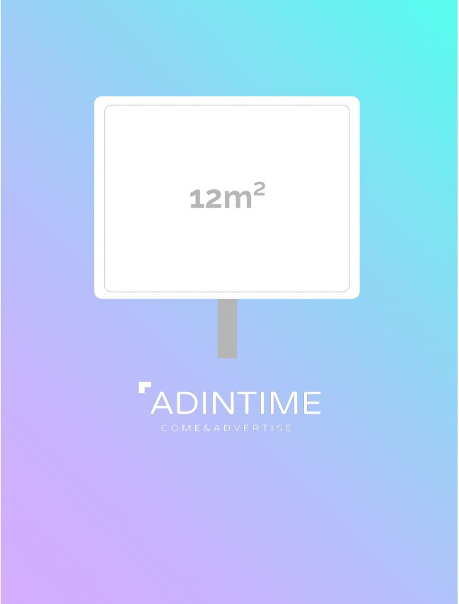 Affichage 12M² : Nimes (35 faces)
