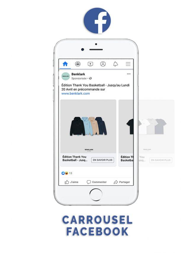 Facebook Carrousel