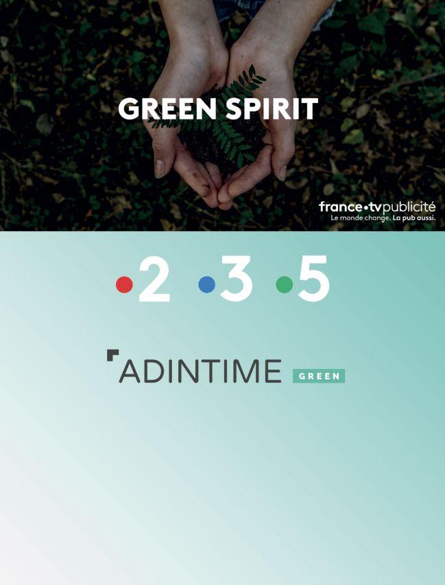 FranceTV Publicité - Écrans Green Spirit