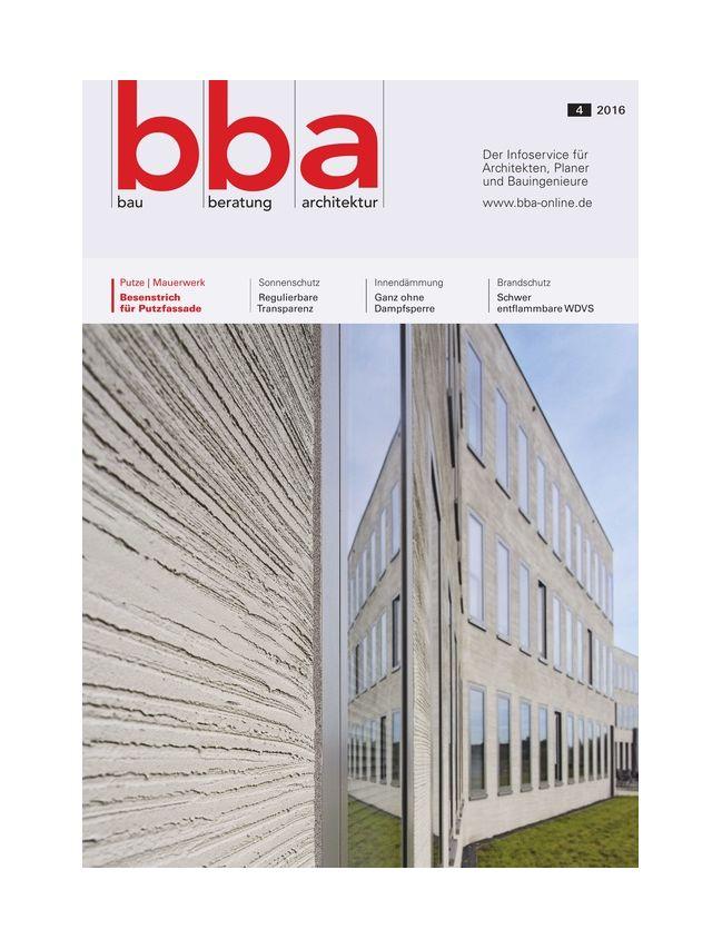 bau beratung architektur (bba)