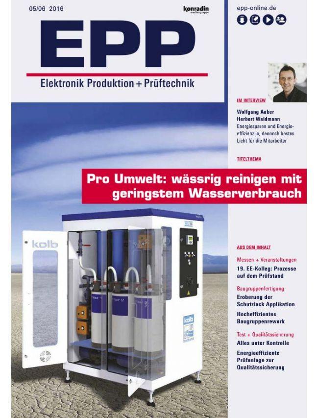 Elektronik Produktion & Prüftechnik (EPP)