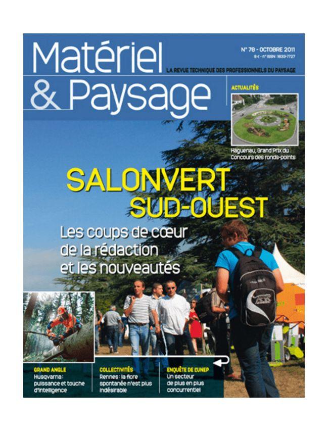 Matériel & Paysage