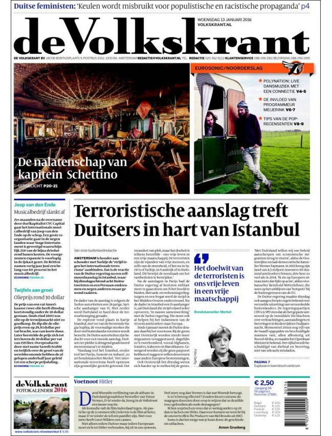 de Volkskrant (Weekdays)