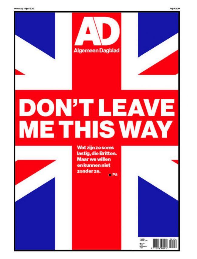 Algemeen Dagblad (AD) (Weekdays)