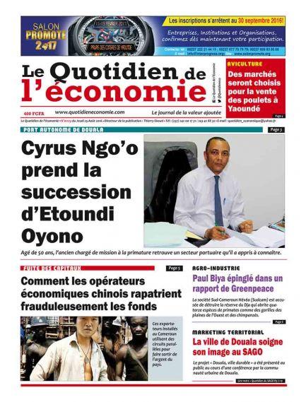 Le Quotidien de l'économie - Africa
