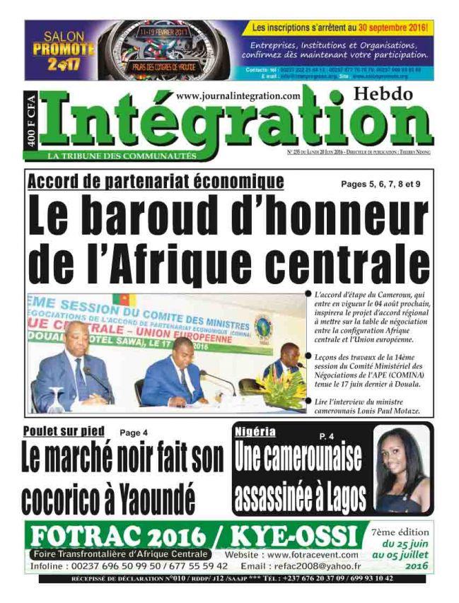 Intégration - Africa