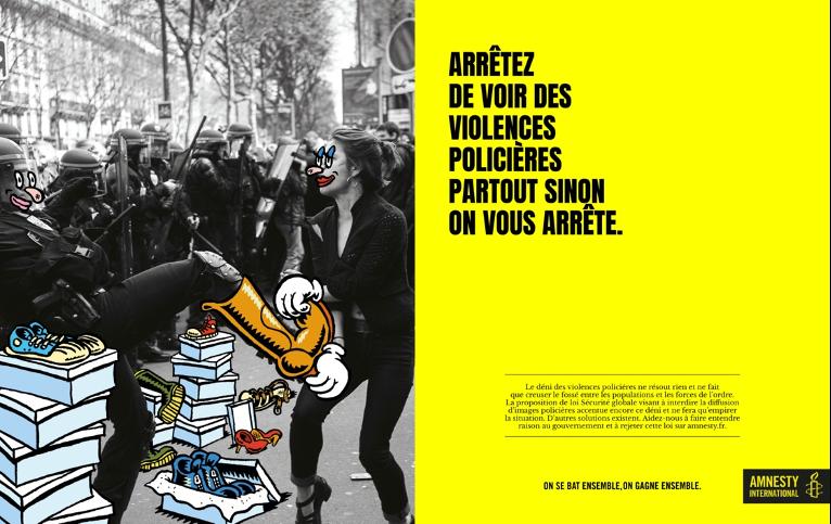 Campagne Amnesty International 2020 - Violences policières