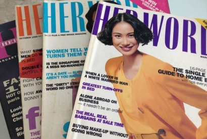 Discover the magazine Her World in Singapore