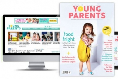 Discover Young Parents magazine in Singapore